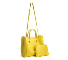 JANE Lemon Yellow Handbag For Women's - Gunas New York 3