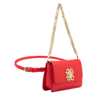 Beautiful Red Vegan Leather Handbags: Gunas New York 3