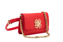 Beautiful Red Vegan Leather Handbags: Gunas New York 5