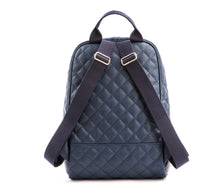 GUNAS New York Navy Cougar Quilted Vegan Leather Backpacks 3