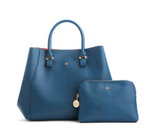 JANE Navy Handbag For Women's - Gunas New York 1