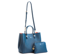 JANE Navy Handbag For Women's - Gunas New York 3