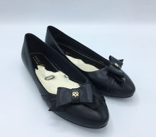 Black  Vegan Leather Swan Shoes - Gunas New York 1