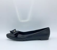 Black  Vegan Leather Swan Shoes - Gunas New York 2
