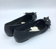 Black  Vegan Leather Swan Shoes - Gunas New York 3
