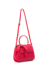 Cottontail PE Raspberry Vegan Shoulder Bag - Gunas New York 5