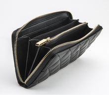 UPTOWN Black ZIPPER WALLET - Gunas New York