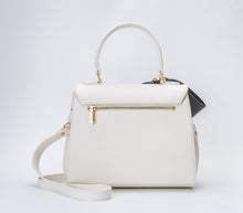 Cottontail PE White with Black Bow Vegan Shoulder Bag - Gunas New York 2