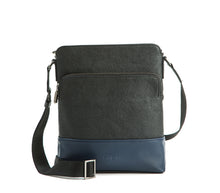Tom - Blue Men's Vegan Sling Bag