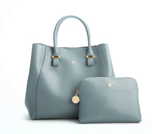 JANE Blue Gray Handbag For Women's - Gunas New York 1