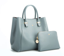 JANE Blue Gray Handbag For Women's - Gunas New York 2