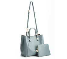 JANE Blue Gray Handbag For Women's - Gunas New York 4
