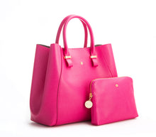 JANE Hot Pink Handbag For Women's - Gunas New York 2