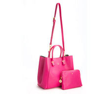 JANE Hot Pink Handbag For Women's - Gunas New York 3