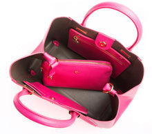 JANE Hot Pink Handbag For Women's - Gunas New York 4