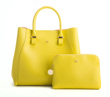 JANE Lemon Yellow Handbag For Women's - Gunas New York 1