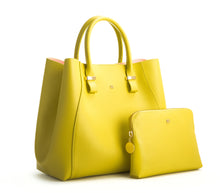 JANE Lemon Yellow Handbag For Women's - Gunas New York 2