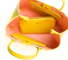 JANE Lemon Yellow Handbag For Women's - Gunas New York 4