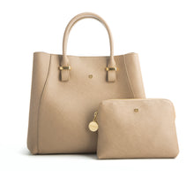 JANE Light Brown Handbag For Women's - Gunas New York 1