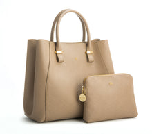 JANE Light Brown Handbag For Women's - Gunas New York 2