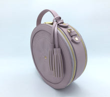 Rotunda Lilac Vegan Bag - Gunas New York 5