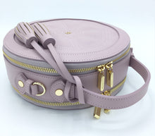 Rotunda Lilac Vegan Bag - Gunas New York 3