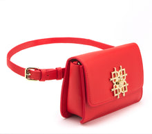 Beautiful Red Vegan Leather Handbags: Gunas New York 1