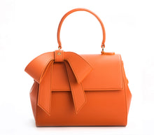 Cottontail PE Orange Vegan Shoulder Bag - Gunas New York 1