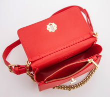 Beautiful Red Vegan Leather Handbags: Gunas New York 4
