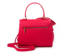 Cottontail PE Raspberry Vegan Shoulder Bag - Gunas New York 3