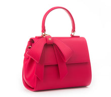 Cottontail PE Raspberry Vegan Shoulder Bag - Gunas New York 2