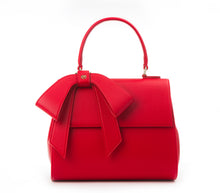 Cottontail PE Red Vegan Shoulder Bag - Gunas New York 1