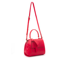 Cottontail PE Red Vegan Shoulder Bag - Gunas New York 3