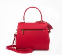 Cottontail PE Red Vegan Shoulder Bag - Gunas New York 2