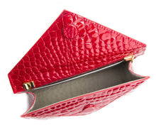 About Last Night - Red Vegan Clutch