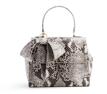Cottontail Black/White Snake Purse - Gunas New York 1