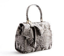 Cottontail Black/White Snake Purse - Gunas New York 2