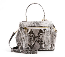 Cottontail Black/White Snake Purse - Gunas New York 3