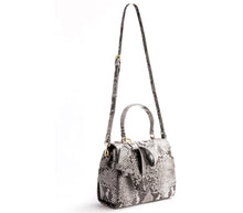 Cottontail Black/White Snake Purse - Gunas New York 5