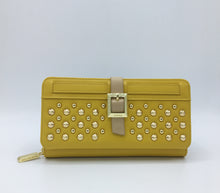 UPTOWN Mustard ZIPPER WALLET - Gunas New York 1