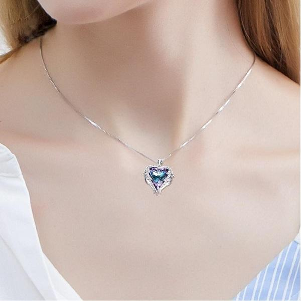 Angel Wing Pendant Necklace