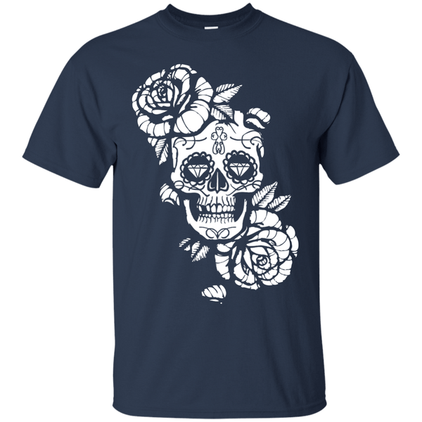 Apparel - Cool Sugar Skull T-Shirt Design