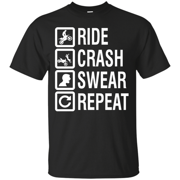 Apparel - Ride, Crash, Swear, Repeat!