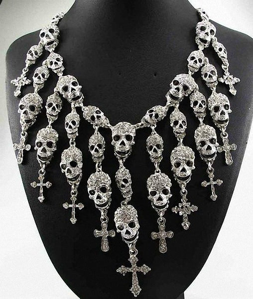 Badass Skull Necklace