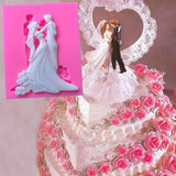 Bride And Groom Cake Mold