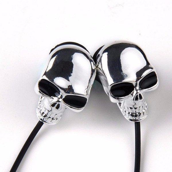 Cool Skull Earphones