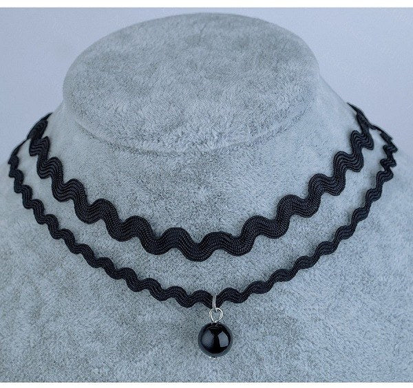 Double Layer Punk Choker