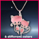 """Forever"" Cat Necklace"