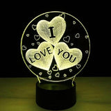 I Love You Romantic Lamp