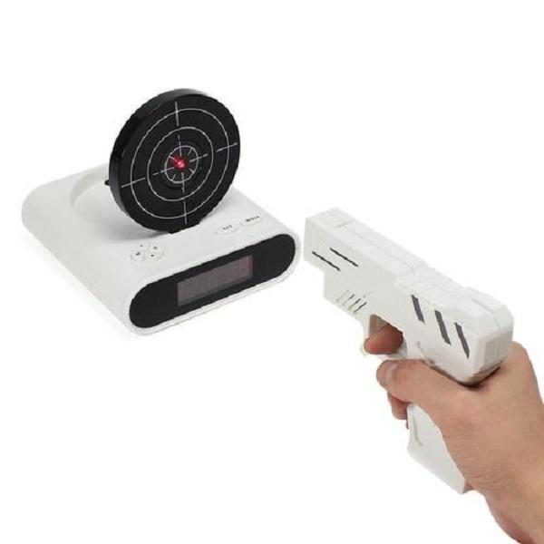Infrared Shooting Alarm Clock